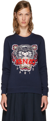 Kenzo Navy Limited Edition Tiger Sweatshirt $265 thestylecure.com