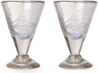 Jan Barboglio Lustre d'Pasion Cordial Glasses Pair, Clear