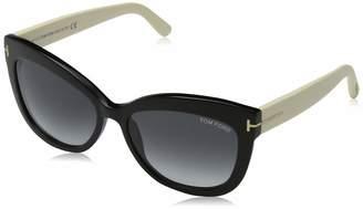 Tom Ford Women's Gradient Alistair FT0524-05B-56 Cat Eye Sunglasses