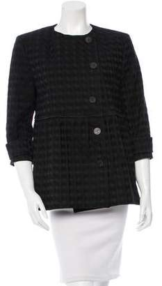 Stella McCartney Embroidered Collarless Jacket