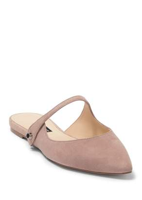 Nine West Camila Mary Jane Mule Flat (Women)