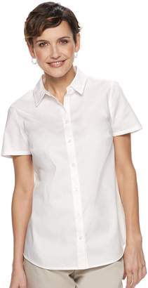 Croft & Barrow Women's Easy Care Shirt