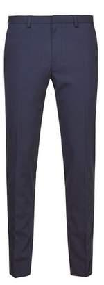 Burton Mens Blue Skinny Fit Stretch Trousers
