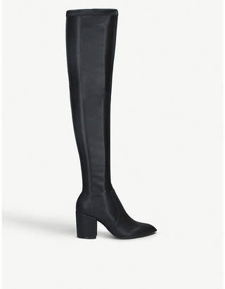 Steve Madden Janey faux-suede long boots