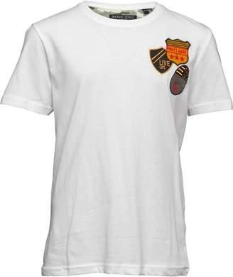 Brave Soul Junior Boys Slogan T-Shirt White