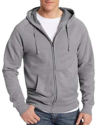 Hanes Men's Big Nano Premium Soft Lightweight Fleece Full Zip Hoodie