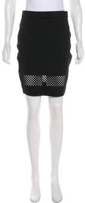 Torn By Ronny Kobo Jasmine Laser Cut Skirt
