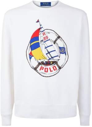 Polo Ralph Lauren CP-93 Sailing Print Sweatshirt