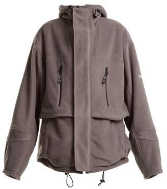 Martine Rose - Oversized Fleece Jacket - Womens - Grey
