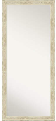 Amanti Art Country Wood 28x64 Floor-Leaner Mirror