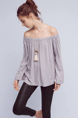 Cloth & Stone Homestead Off-The-Shoulder Top $88 thestylecure.com