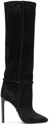 Saint Laurent Mica knee-high boots