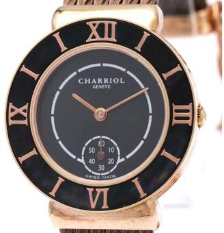 Saint Tropez Philippe Charriol ST30 Pink Gold Plated Quartz 30mm Womens Watch
