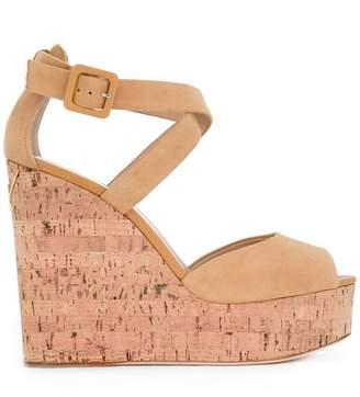 Giuseppe Zanotti Design peep toe wedge sandals