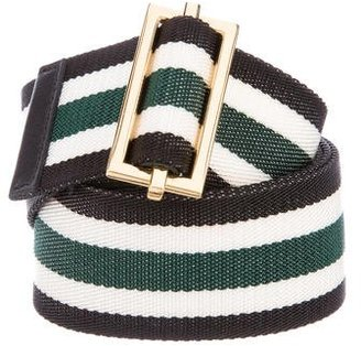 Canvas Stripe Belt