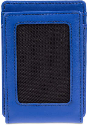 Nike Men's Leather Card Case With Money Clip