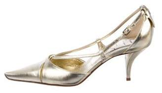 Roger Vivier Sex And The City Pumps Gold Sex And The City Pumps