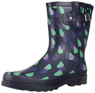 Western Chief Women's Waterproof Printed Mid Rain Boot