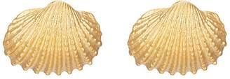 TOHUM DESIGN Women's Beach Shell Small Earrings