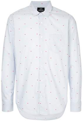Mads Norgaard polka dot fitted shirt