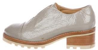 Acne Studios Patent Leather Laceless Oxfords