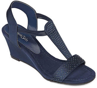 East Fifth east 5th Gaby Womens Wedge Sandals