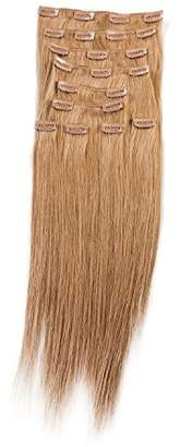 """SONO 1 Count 140 g 16"""" Clip-in Straight 1 Count 100% Human Hair Extensions"""