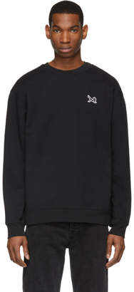 Calvin Klein Jeans Est. 1978 Black Icon Embroidery Sweatshirt