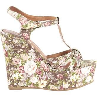 Jeffrey Campbell Cloth sandals