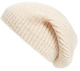 Women's Caslon 'Coordin' Knit Beanie - Beige $25 thestylecure.com