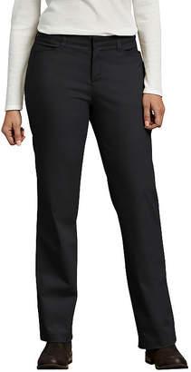 Dickies Women's Curvy Fit Straight Leg Stretch Twill Pants