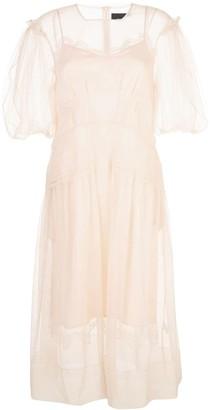 Simone Rocha long tulle dress