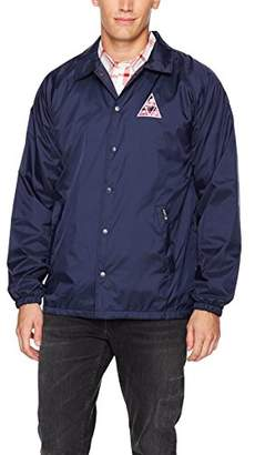 HUF Men's Dimensions Coaches Jacket