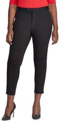 Lauren Ralph Lauren Plus Side Striped Ponte Pants