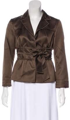 Philosophy di Alberta Ferretti Wool Belted Jacket