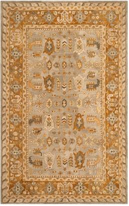 Safavieh Anatolia Bryce Framed Floral Wool Rug