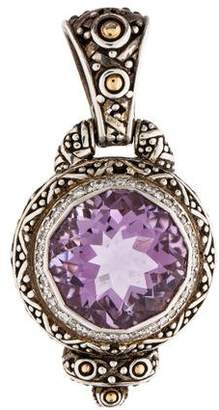John hardy pendant shopstyle pre owned at therealreal john hardy amethyst diamond pendant aloadofball Image collections