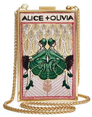 Alice + Olivia Sophia Twins Clutch