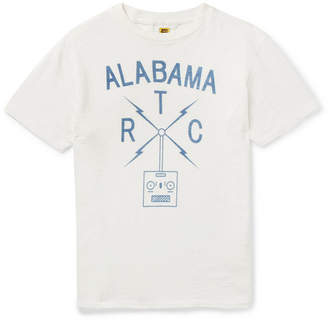 Velva Sheen Slim-Fit Printed Cotton-Jersey T-Shirt