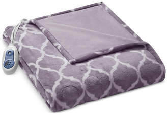 Simmons Oversized Ogee Heated Throw Bedding