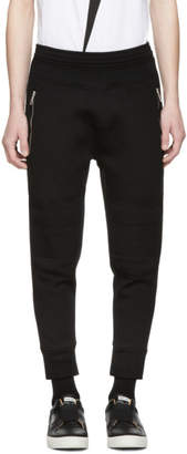 Neil Barrett Black Biker Lounge Pants