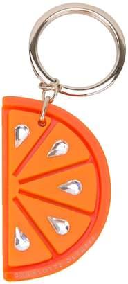 Charlotte Olympia orange keyring