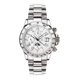 Men's Silver Le Capitaine Bracelet Watch