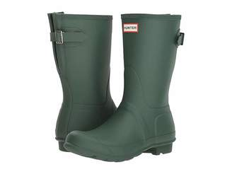 Hunter Short Back Adjustable Rain Boots