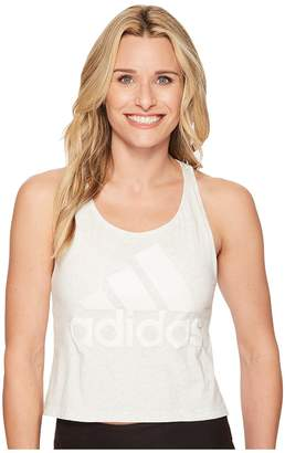 adidas Sport ID Crop Tank Top Women's Sleeveless