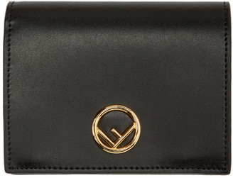 Fendi Black F is Bifold Wallet