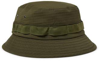 4eaf2c9db Beams Webbing-Trimmed Ripstop Bucket Hat - Men - Army green