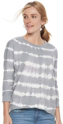 Sonoma Goods For Life Women's SONOMA Goods for Life Print French Terry Sweatshirt