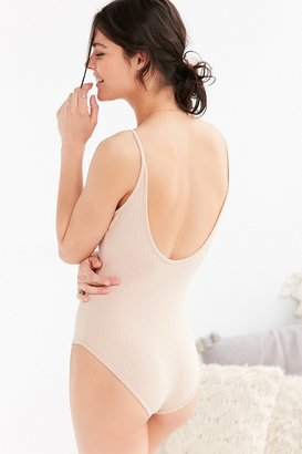 Out From Under Ribbed Bodysuit $29 thestylecure.com