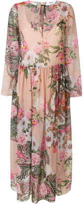 Blugirl floral print maxi dress